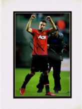 Robin Van Persie Autograph Signed Photo - Manchester United